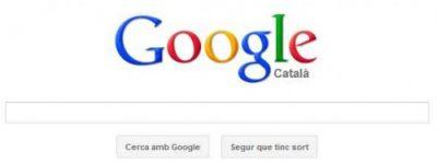 google en catalan