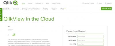 qlikview cloud