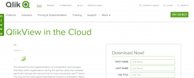 qlikview cloud